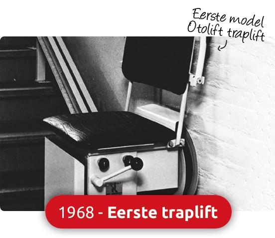 1968 eerste traplift