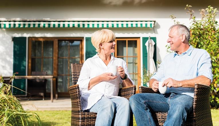 55 plussers kunnen langer thuis wonen met een blijverslening