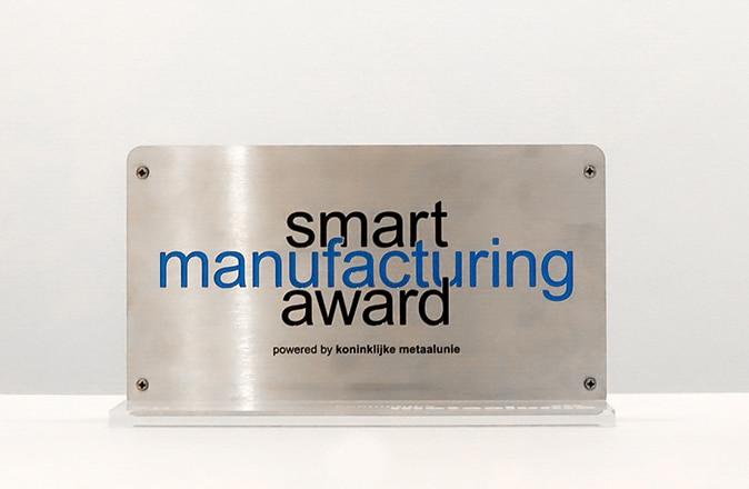 Otolift winnaar van de Smart Manufacturing award.