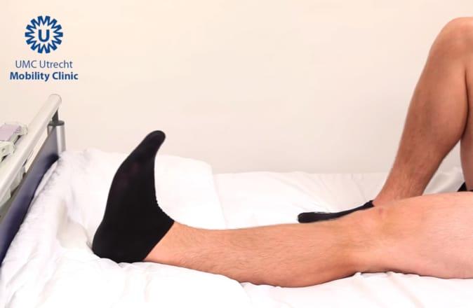 circulatie oefeningen vermoeide benen